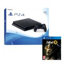Комплект Playstation 4 Slim, 1tb (РСТ) (СUH-2208B) + Fallout 76