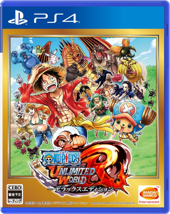 One Piece: Unlimited World Red - Deluxe Edition (PS4, английская версия)