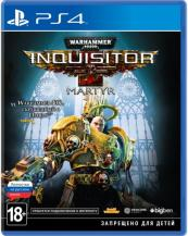 Warhammer 40 000: Inquisitor - Martyr (PS4, русская версия)