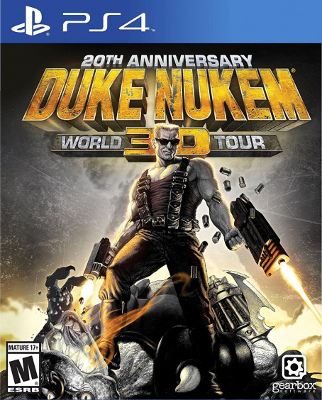 Duke Nukem: World Tour 3D - 20th Anniversary Wold Tour (PS4, русские субтитры)