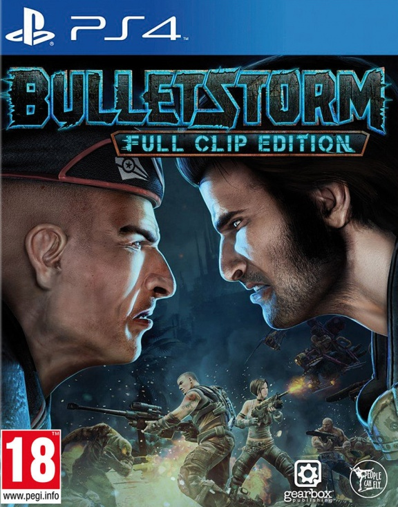 Bulletstorm: Full Clip edition (PS4, русские субтитры)