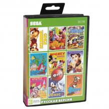 9 игр в 1 (AB-9002), Squirrel King + TaleSpin + Sonic 2 + Ariel the Little Mermaid + Goofys +.., Sega
