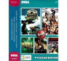 5 игр в 1 (AB-5007), Comix Zone + Golden Axe 3 + Prince of Persia + Pitfall +.., Sega