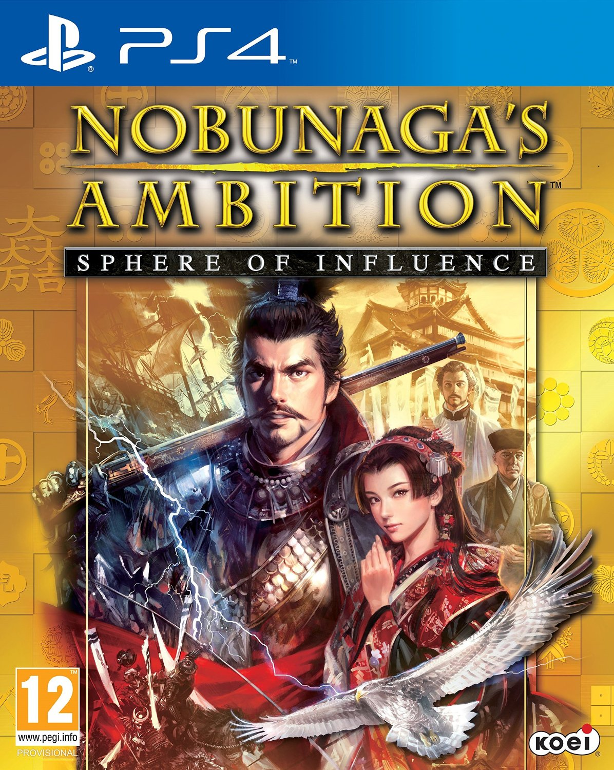 Nobunaga's Ambition: Sphere of Influence (PS4, английская версия)