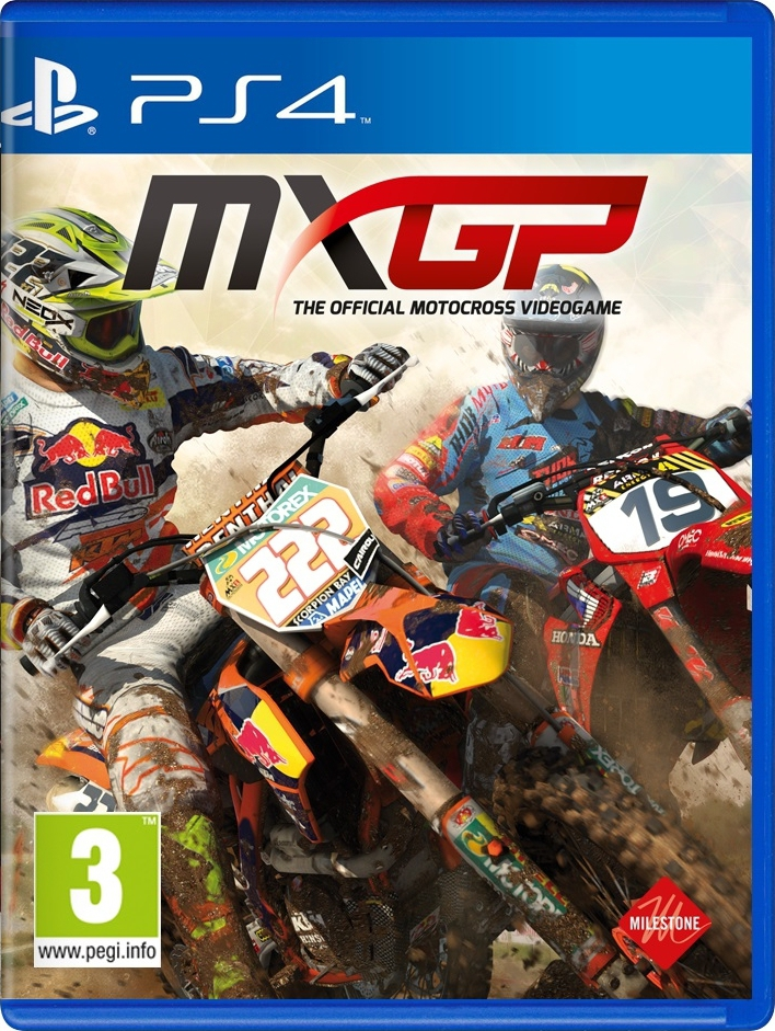 MX GP: The Official Motocross Videogame (PS4, английская версия)