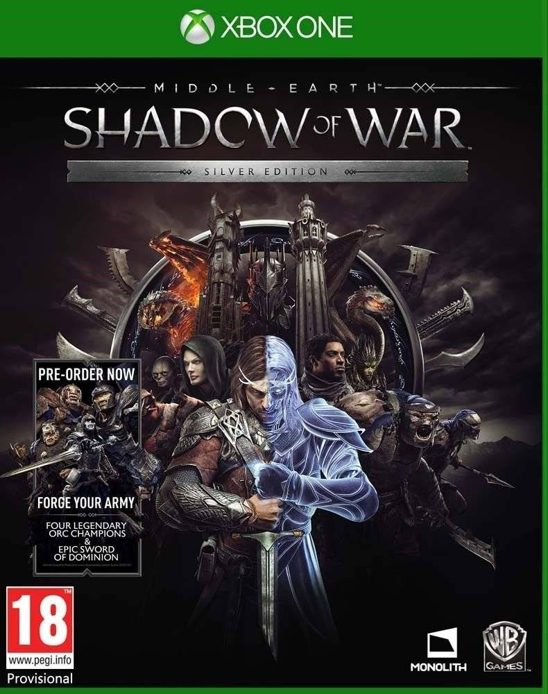 Middle - Earth: Shadow of War - Silver Edition (Xbox One, русские субтитры)