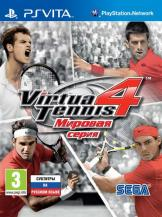 Virtua Tennis 4: World Tour Edition (PS Vita, русская версия)