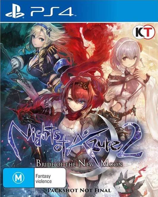 Nights of Azure 2: Bride of the New Moon (PS4, английская версия)