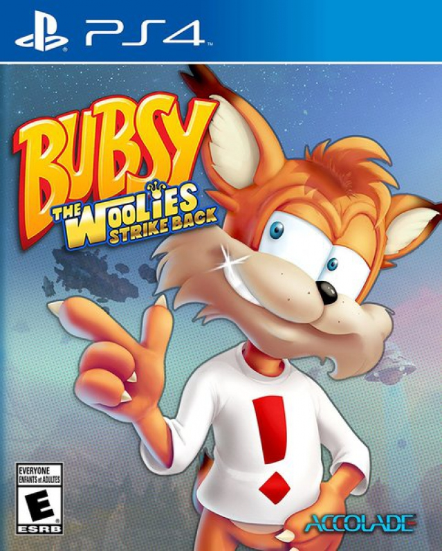 Bubsy: The Woolies Strike Back (PS4, английская версия)