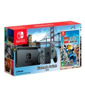 Комплект Nintendo Switch (Grey) (РСТ) + Lego City Undercover