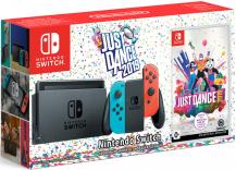 Комплект Nintendo Switch (NeonRed/NeonBlue) + Just Dance 2019
