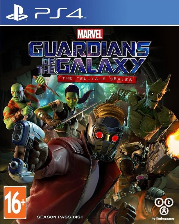 Marvel: Guardians of the Galaxy - The Telltale Series (PS4, русские субтитры)