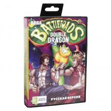 2 игры в 1, Battle Toads & Double Dragon, Sega
