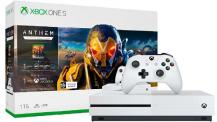 Комплект Xbox One S, 1tb (White) (234-00948) + Anthem