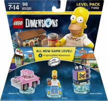 The Simpsons (Homer's Car, Homer, Taunt-o-Vision), LEGO Dimensions Level Pack