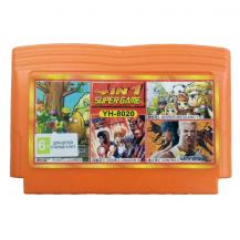 4 игры в 1 (YH 8020), Double Dragon 2 + Contra 2 + Plants vs Zombies + Adventure Island, Dendy