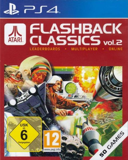 Atari Flashback Classics: Volume 2 (PS4, английская версия)