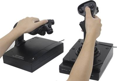 Геймпад HORI Flight Stick Hotas Ace Combat 7, PC (PS4-094E)