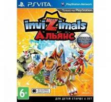 Invizimals: Alliance (PS Vita, русская версия)