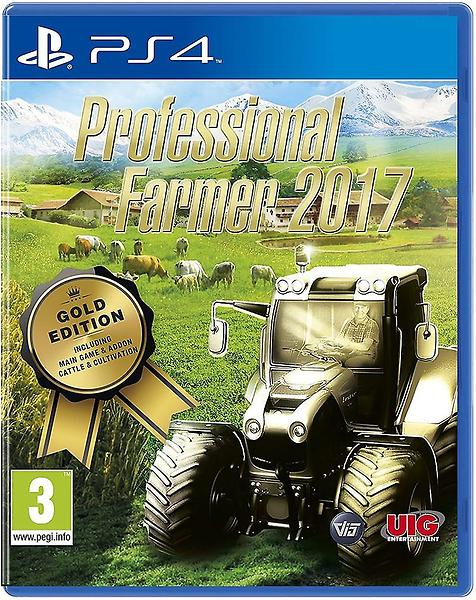 Professional Farmer 2017 - Gold Edition (PS4, английская версия)