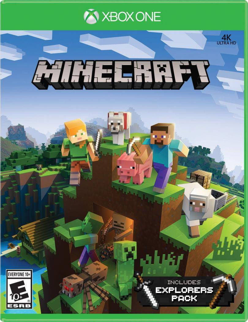Minecraft: Explorers Pack (Xbox One, русские субтитры)