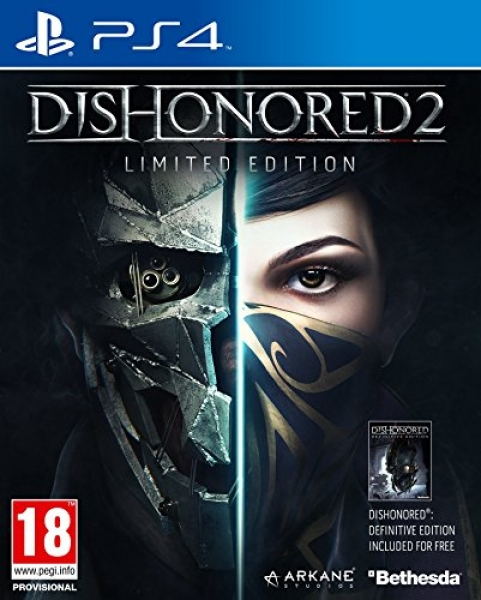 Dishonored 2: Limited Edition (PS4, русская версия)