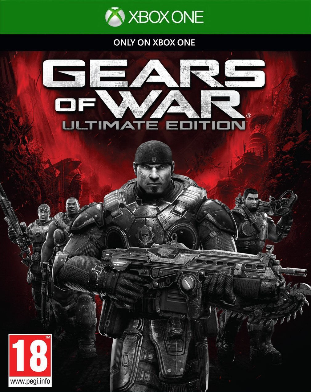 Gears of War: Ultimate Edition (Xbox One, русская версия)
