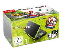 Nintendo 2DS XL (Black Lime) + Mario Kart 7 (NIC-2202336)