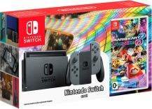 Комплект Nintendo Switch (Grey) + Mario Kart 8 Deluxe