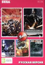 5 игр в 1 (AB-5010), Battletech + Jungle Strike + Robocop + Terminator + Dessert Strike, Sega