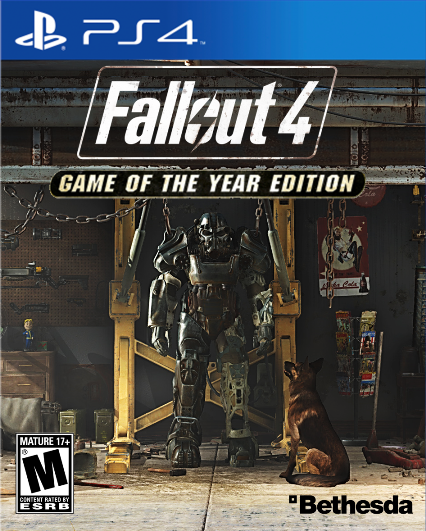Fallout 4: Game of the Year Edition (PS4, русские субтитры)