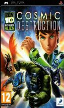 Ben 10: Ultimate Alien Cosmic Destruction (PSP, английская версия)