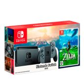 Комплект Nintendo Switch (Grey) + The Legend of Zelda: Breath of the Wild