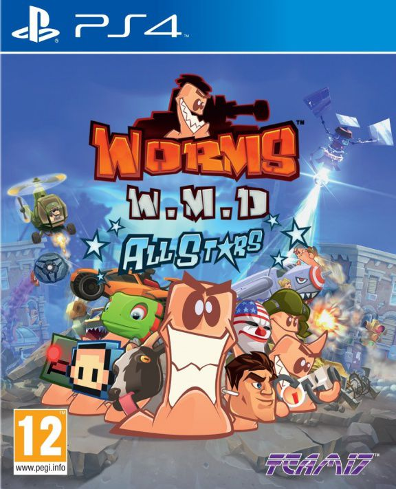 Worms W.M.D. All Stars (PS4, русская версия)