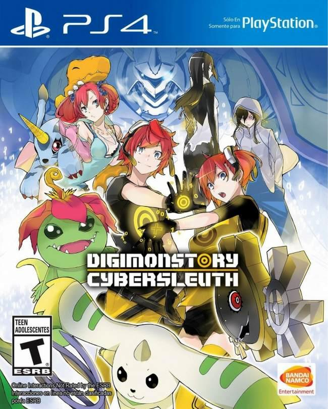Digimon Story Cyber Sleuth (PS4, английская версия)