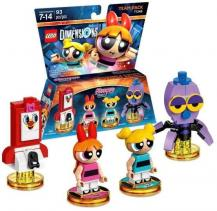 The PowerPuff Girls (PRG Smartphone, Blossom, Bubbles, Octi), LEGO Dimensions Team Pack