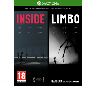Inside / Limbo - Double Pack (Xbox One, русские субтитры)