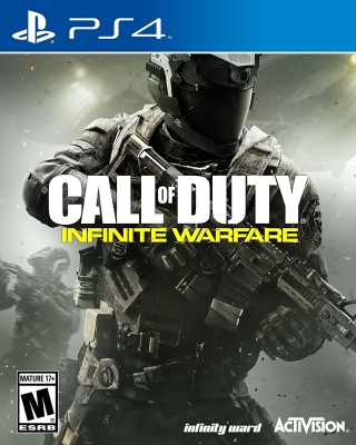 Call of Duty: Infinite Warfare (PS4, русская версия)