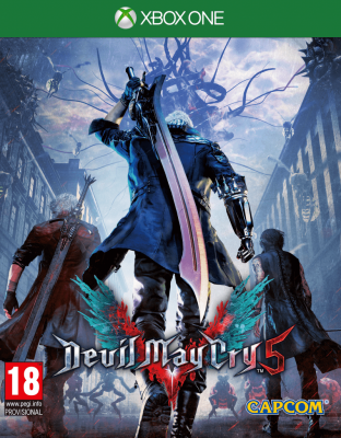 Devil May Cry 5 (Xbox One, русские субтитры)