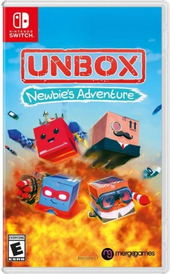 Unbox: Newbie's Adventure (Nintendo Switch, английская версия)