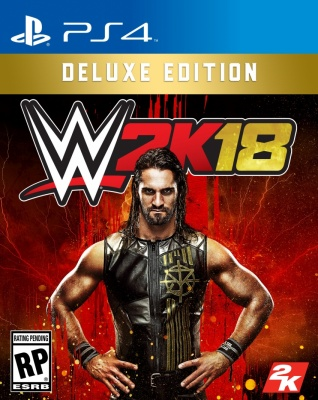 WWE 2K18: Deluxe Edition (PS4, английская версия)