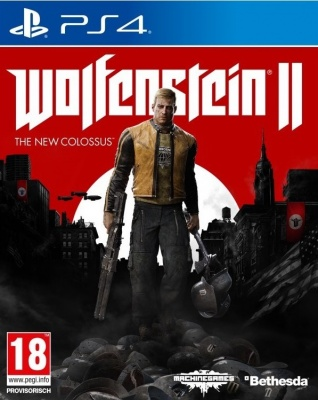 Wolfenstein 2: The New Colossus (PS4, русская версия)