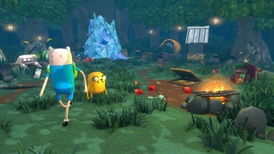 Adventure Time: Finn and Jake Investigations (PS4, английская версия)