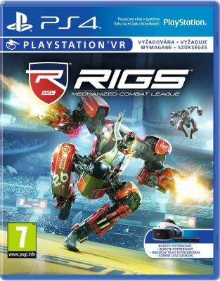 RIGS: Mechanized Combat League (только для PS VR) (PS4, русская версия)