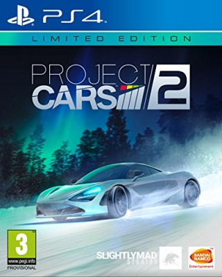Project Cars 2: Limited Edition (PS4, русская версия)