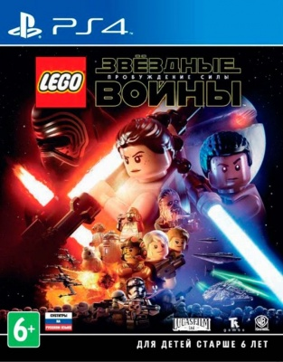 LEGO Star Wars: The Force Awakens (PS4, русские субтитры)