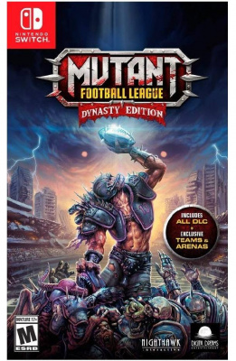 Mutant Football League - Dynasty Edition (Nintendo Switch, английская версия)