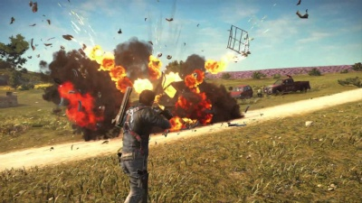 Just Cause 3: Day One Edition (PS4, русская версия)