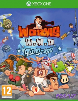 Worms: W.M.D. All Stars - Day One Edition (Xbox One, русские субтитры)