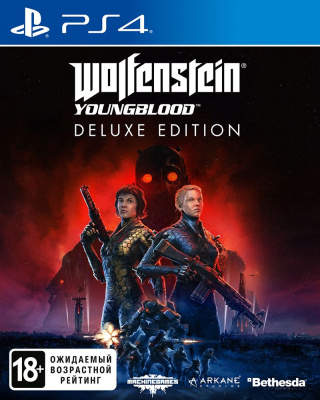 Wolfenstein Youngblood Deluxe Edition (Русская версия, PS4)